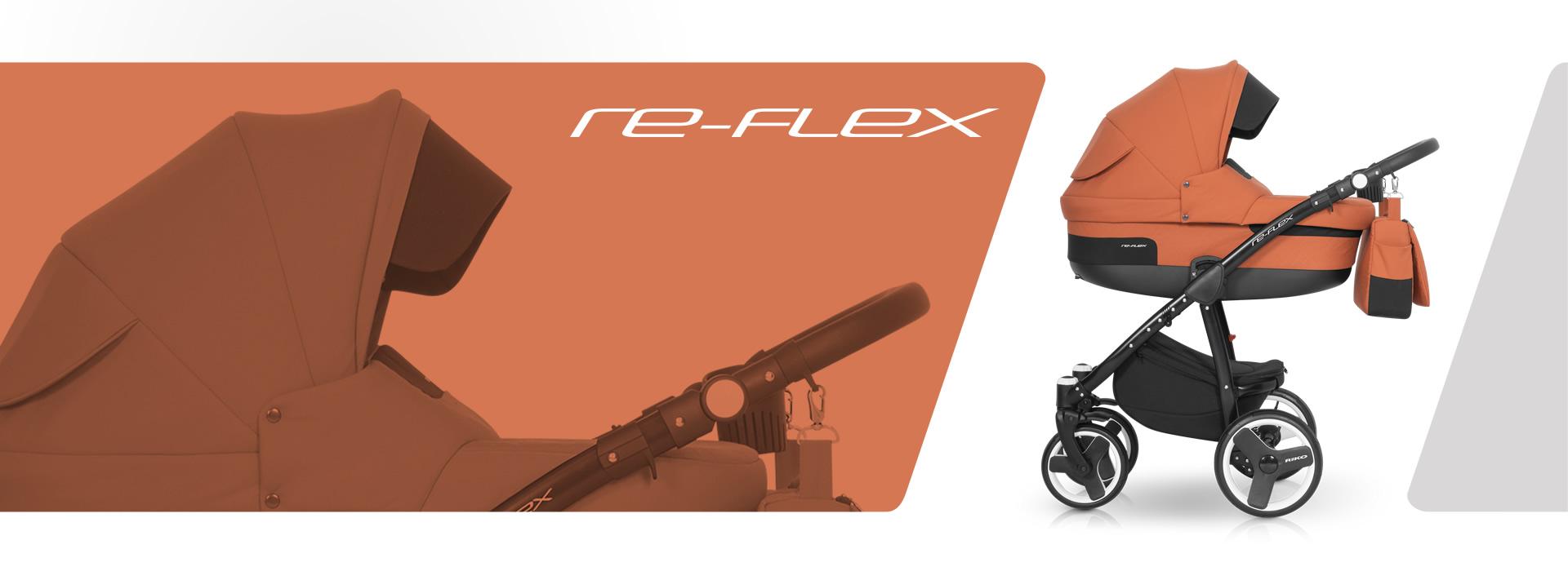 Re-Flex wózek dziecięcy Riko