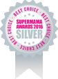 ПРИНИМАЛИСЬ ECCO обладателем серебряной медали в опросе SUPERMAMA AWARDS 2016