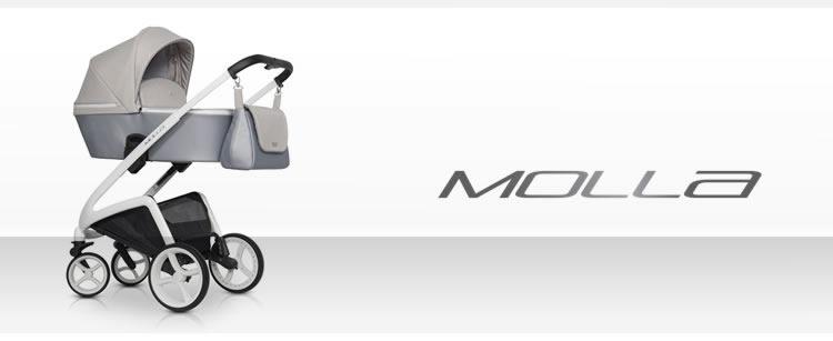 Wózek głęboki Molla 1+1