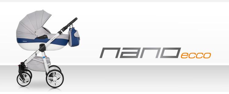 Wózek dzieciecy Nano Ecco