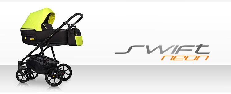 Nowoczesny wózek wielofunkcyjuny Swift Neon